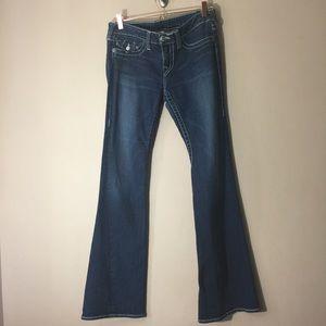 true religion women's joey flare jeans